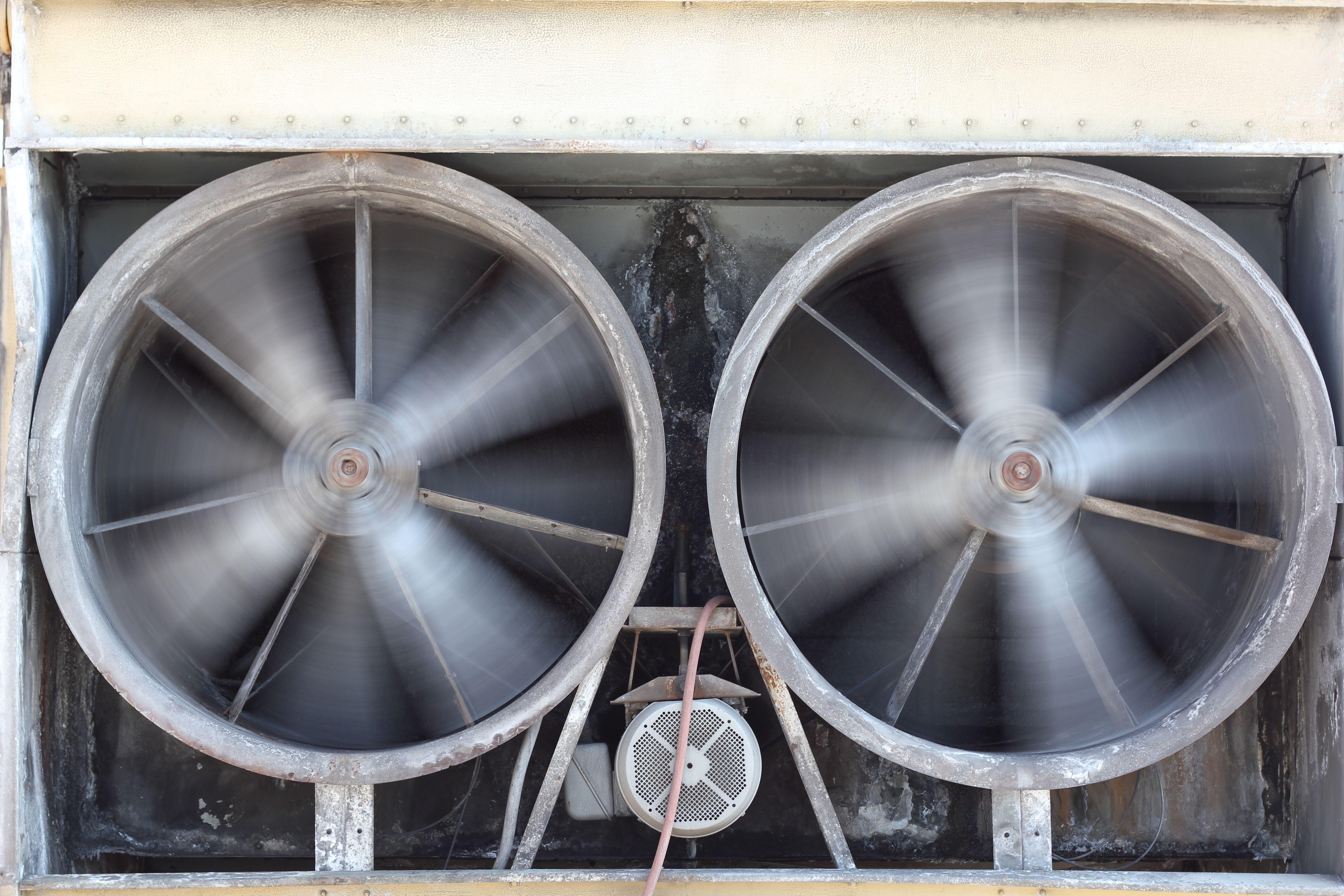 Ipari ventilátor a gyárakban és raktárakban