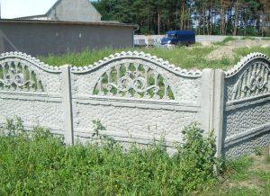 Gyorsan felépített kerítés