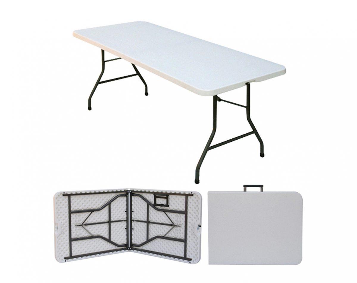 Összecsukható rendezvény asztal