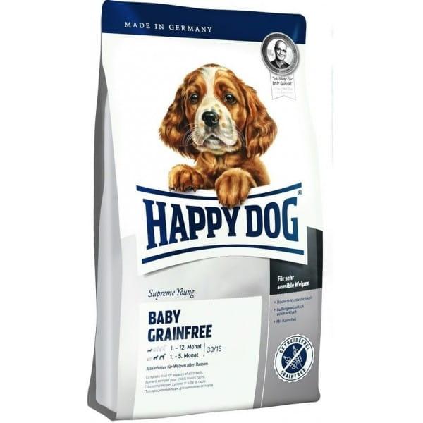 A Happy Dog kutyatáp megfelelő választásnak bizonyul